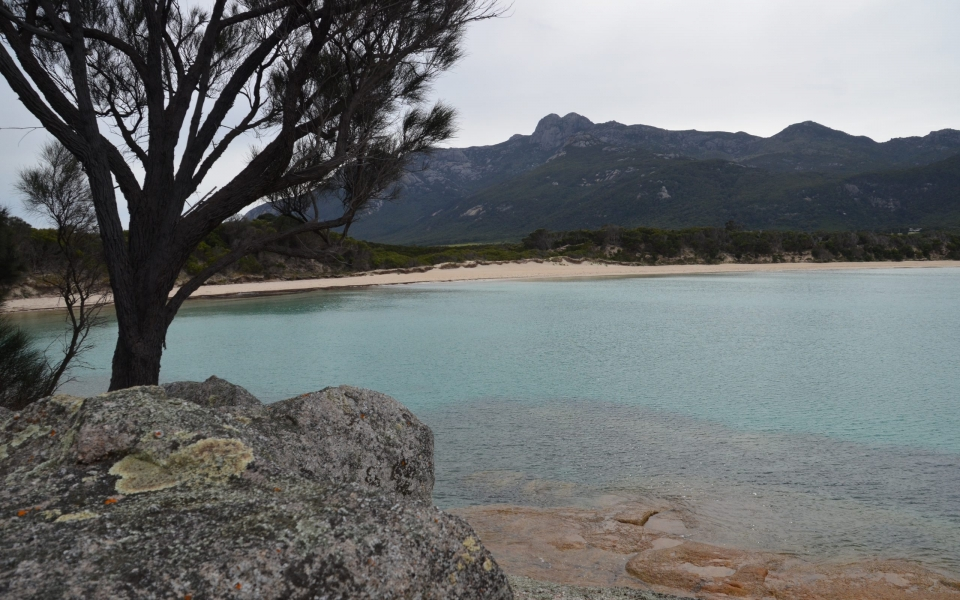 camping trousers point flinders island