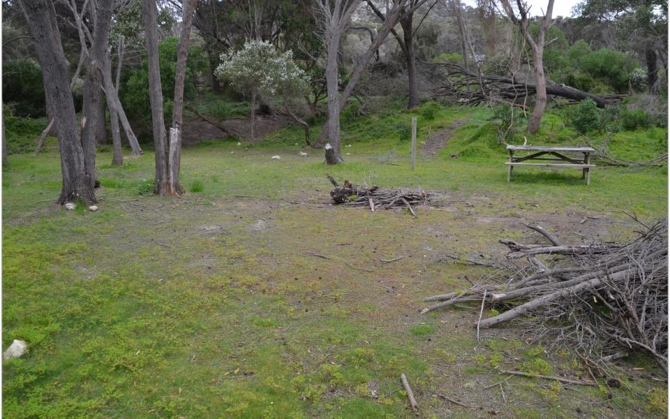 allports campground emita flinders island