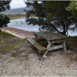 Camping Lillies Bay Flinders Island